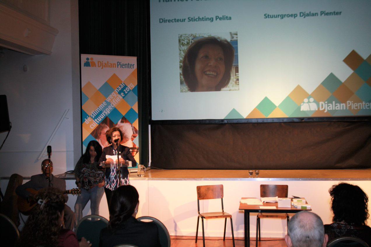 Foto Harriet Ferdinandus, directeur Stichting Pelita